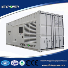 50/60hz Powered by Mitsubishi, container type, 880kva, silent type, open type, good quality, good price, ce certified, for sale