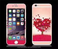 Glitter shining cute colorful paintingTempered glass screen protector for iphone 6 6plus 6s CO-TGCP-7009