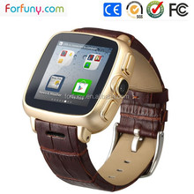 2015 Factory Offer Waterproof Bluetooth Smart GPS Watch mobile phone Fw01 with wifi and 3G Sim Card Built-in