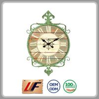 Top Selling Home Decoration Oem Natural Color Wedding Gift Wall Clock