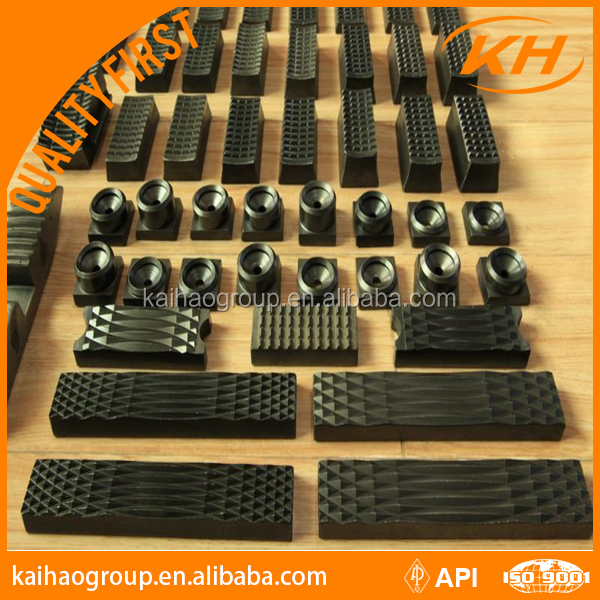 """Tong Dies: 4 1/2"""" Manual Tong Dies And Slip Inserts For"""