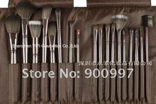 Brand New! Luxury Coffee Color 18 Aluminium custom makeup brush