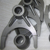 Alloy Steel 42CrMo4 Shift Fork OEM Service, Silica Sol Investment Casting Process