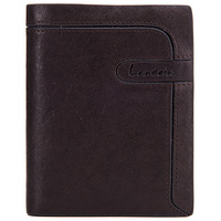 2015 fashion genuine leather wallets newly design bank card case
