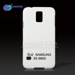 OEM 3D Sublimation plastic cell phone cases blank case for Samsung galaxy S5 i9600/custom mobile phone case