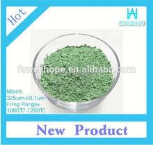 ceramic raibow colors pearl pigment Apple Green 926682 paint color pigment for pottery