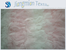 Exquisite New Style Above Knee Organza Pink Bow Latest Children Dress Designs