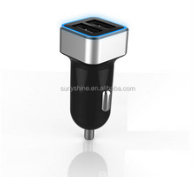 Dual USB highspeed 2 port cell phone car charger adapter