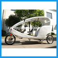 Triciclo eléctrico bicitaxi para alquilar