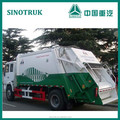 Howo basura 4 * 2 refuse compactador camiones