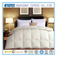 Cotton Fabric Down Filling Comforter Microfiber Quilt