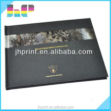 Guangdong Shenzhen Jinhao nice scenery /travelling top quality hardcover printing book