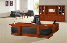High End Customized Lacquer Modern Veneer CEO Desk (SZ-OD525)
