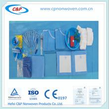 drapeado médica estéril para la operación de la angiografía,CE & ISO13485 certificaciones