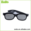 Fancy 3d glasses,ABS frame light 3d glasses for sale