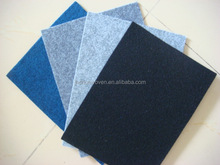 Waterproof polyester felt fabric for laptop bags