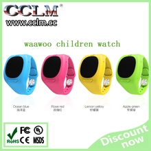 2015 New product Waawo brand gps tracking device for kids gps positioning and monitoring smart watch for children