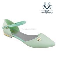 fasihion shoes pointed sandals with rhinestone sexy sandals made in China