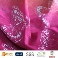 wholesale digital print silk by the yard for 2015 fashion fabric