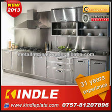 Custom Modern Design Stainless Steel Kitchen Furniture Guangzhou With 31 Year Experience