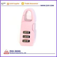 Pink Combination Lock 9907