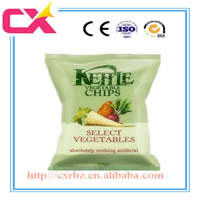 Potato chip package laminated foil bag