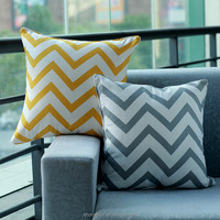 New Home Decorative100% cotton Sofa Cushion Cover Pillow Boster Case Classic European Brand