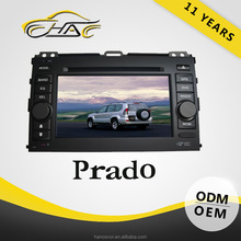 Double Din Car DVD GPS For Toyota Prado With Bluetooth Hand Free Call/ Rear-view Camera