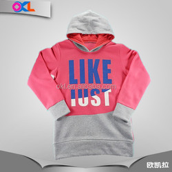 Professional garment factory best price children thick hoodie