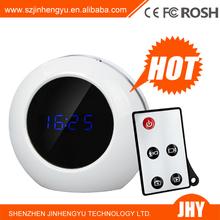 Digital Motion Detection Alarm Clock Hidden Camera V8 with Remote Control Motion Detection 1280*960/Clock DVR