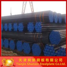 tianjin carbon steel pipe price list weld steel pipe