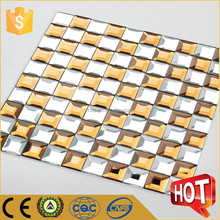 Unique national style mirror glass mosaic tile for kitchen