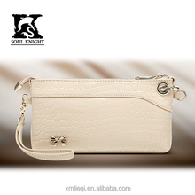 SK-1009 custom supplier ladies fancy leather hangbags with attractive printing