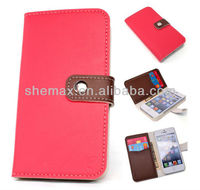 Case Skin Cover Flip Pouch Clutch Card Wallet For iPhone 5g 5C 5S