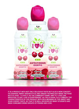 Cherry fruit drink beverage with PET bottle 500ml juice drink healthy drink