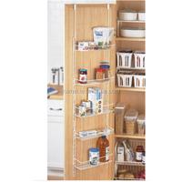 Wall Mounted Metal 5 Tiers Kitchen Cabinet Shelf Edge