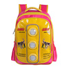 personized custom led flashing lights school bag backpack type