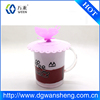 magic leakproof silicone cup lid /silicone coffee cup lids /silicone cup cover