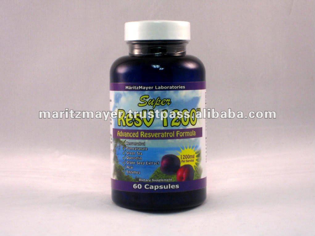 1200 mg de Resveratrol puro