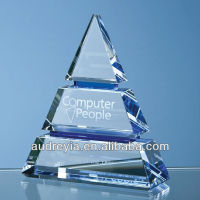 Custom made egypt crystal pyramid