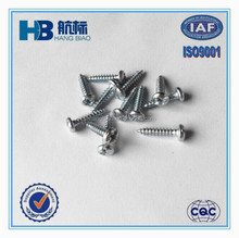 COMB + - Drive Pan Head White Zinc Sheet Metal Screw