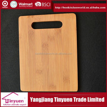 Personalized Cutting Board Square Type Bamboo Wood Chopping Board