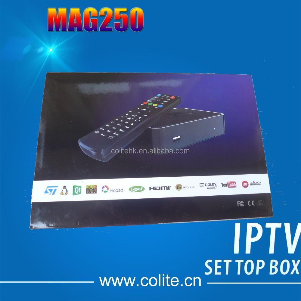 iptv set top box mag 250 user guide