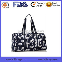 fashion polyester duffle bag for travel custom printed duffle bag manufactures