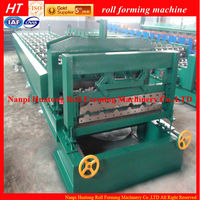 Automatic archaized glazed tile roll forming machine