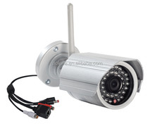 Aokwe CMOS sensor 720p p2p ip camera waterproof IP66 IR bullet outdoor wifi camera support TF card