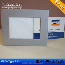 advertising lighting box indoor PF6 plastic material frame slim light box
