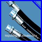 Npt e BSP macho mangueiras hidráulicas de aço carbono