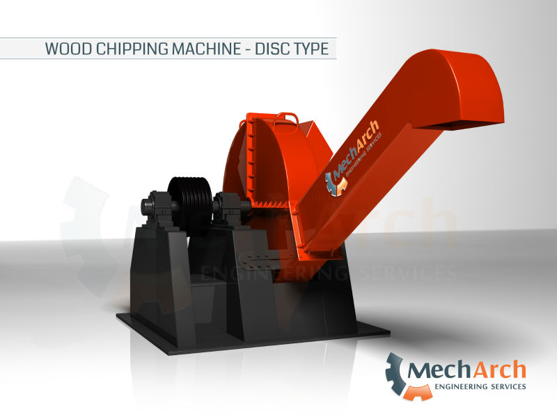 Wood Chipper Machine Disc Type - Buy Wood Chipper Machine Product on ...