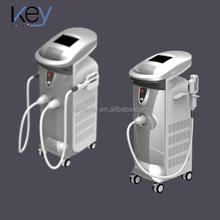 Vertical SHR Hair Removal Machine IPL Laser For Shrink / Tighten Pores Salon